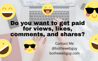 Do you want to get paid for likes and shares?